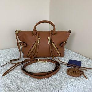Rebecca Minkoff Fringe Crossbody Leather Bag